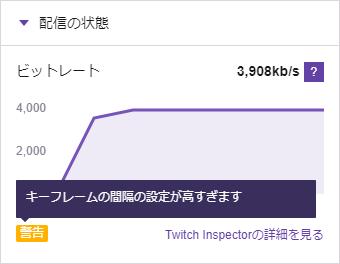Twitchインスペクタ - Twitchメモ書き